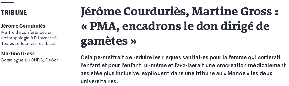 Capture ecran article le Monde