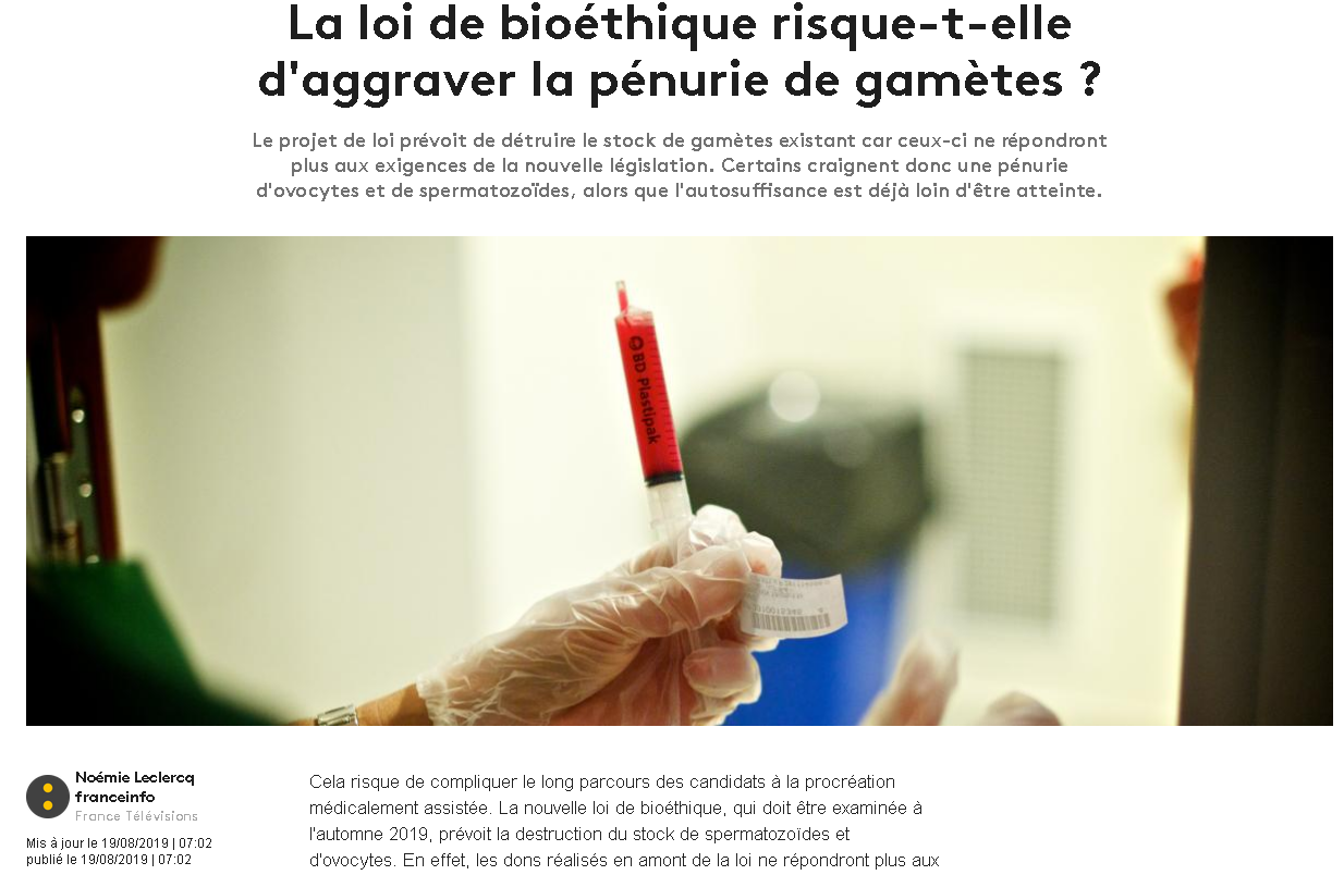 Capture ecran article FranceInfo