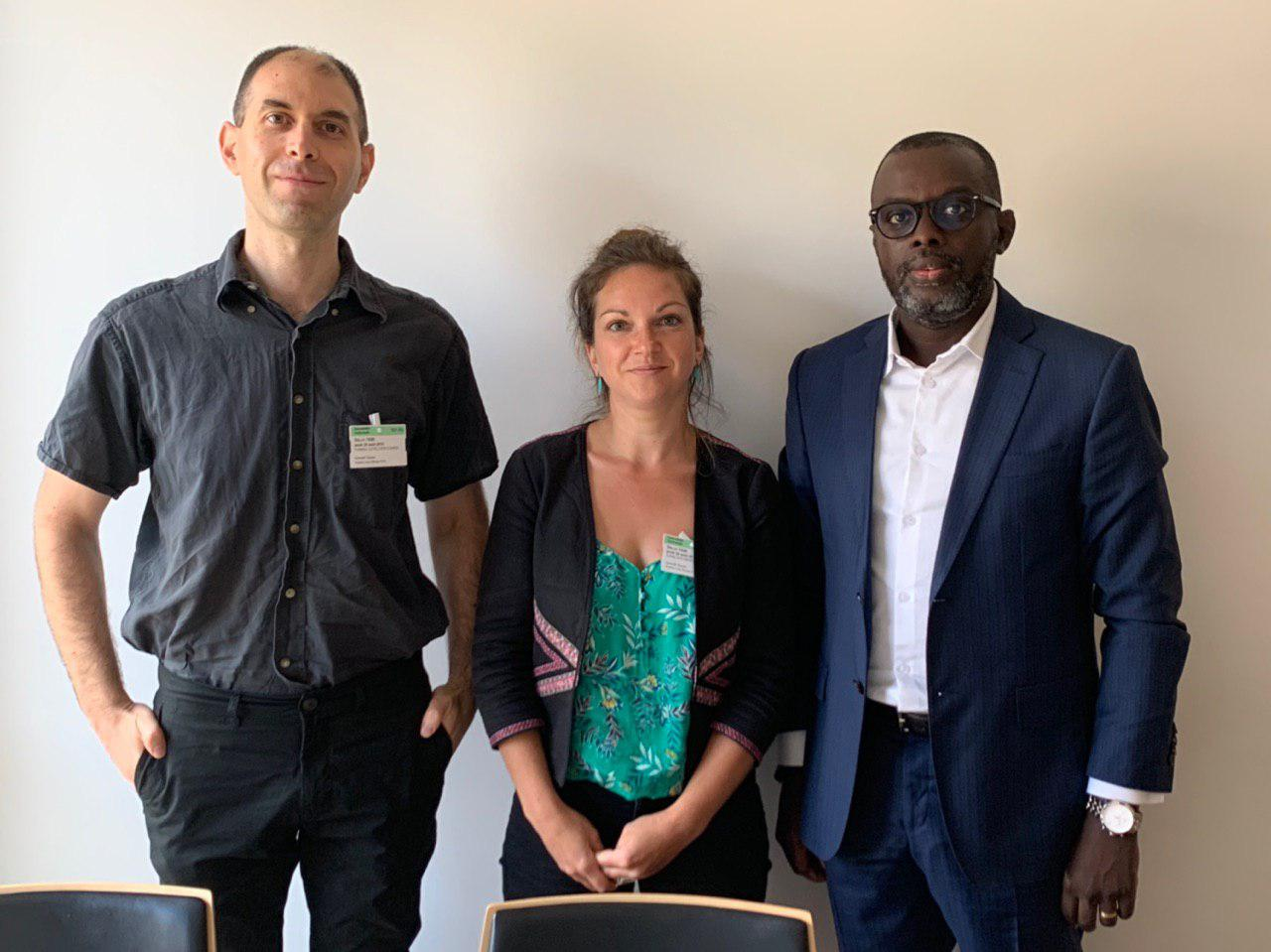 Association Dons de Gametes Solidaires avec le depute MBAYE