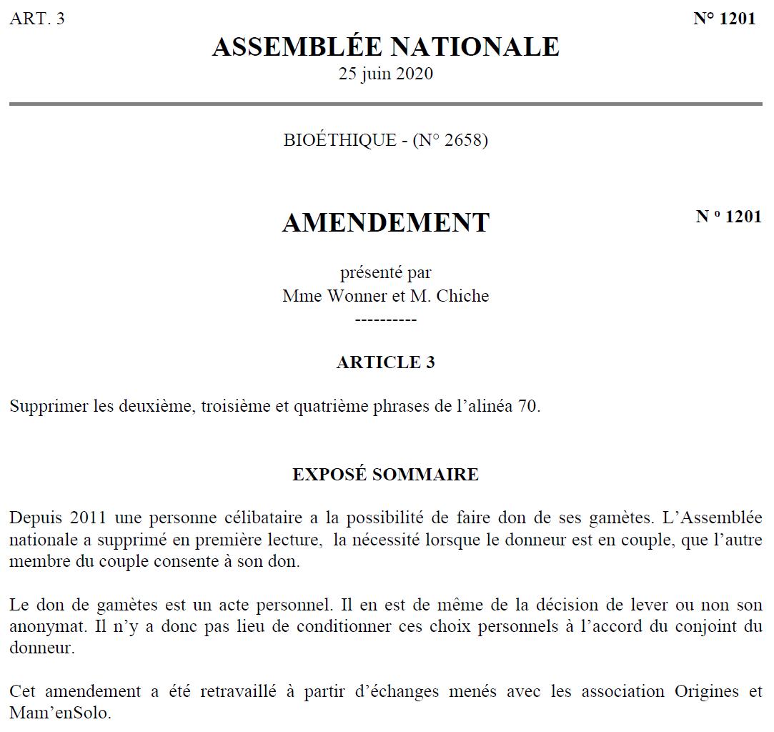 Amendement 1201