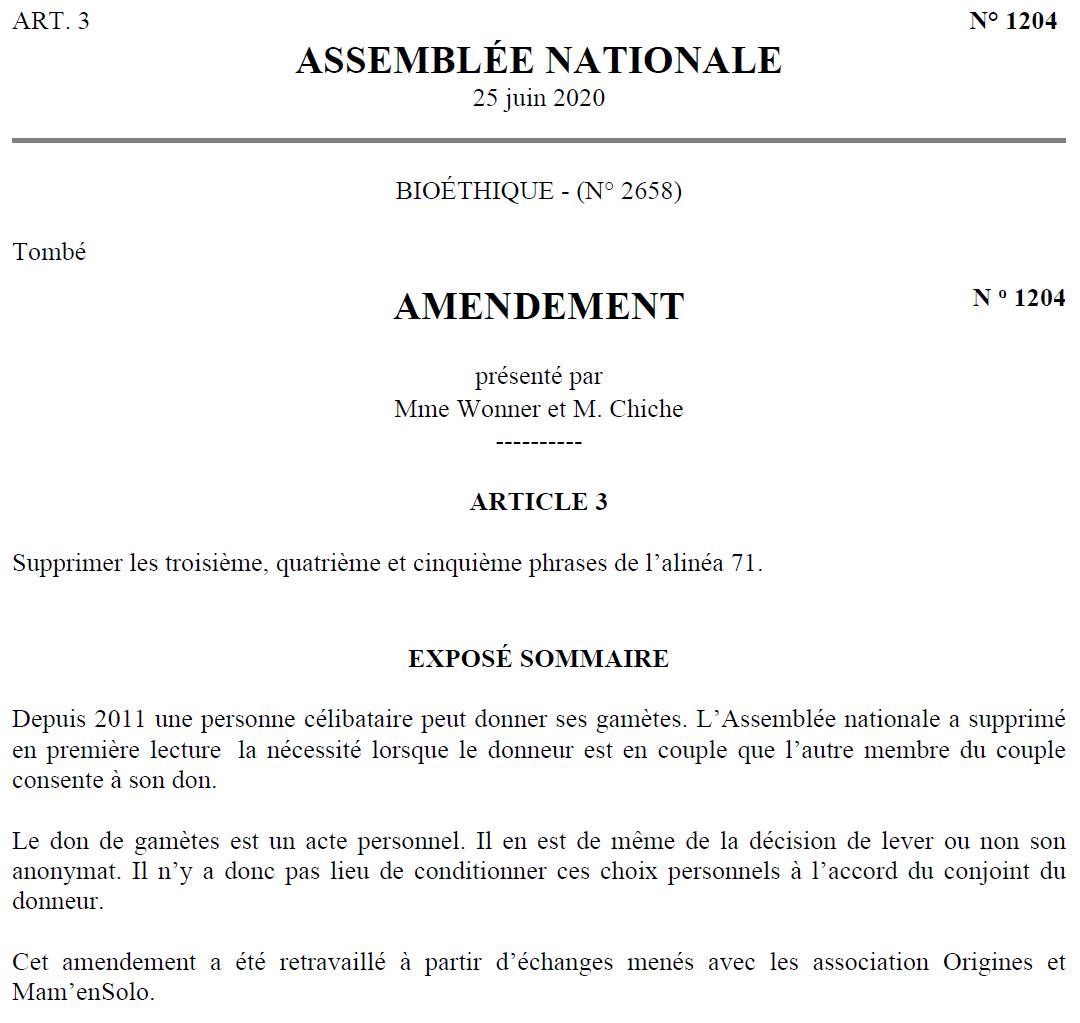 Amendement 1204
