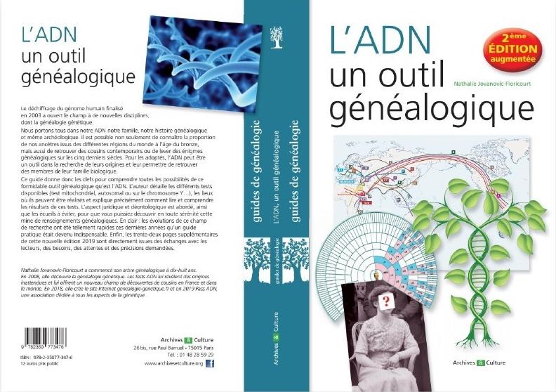 ouvrage ADN un outil genealogique