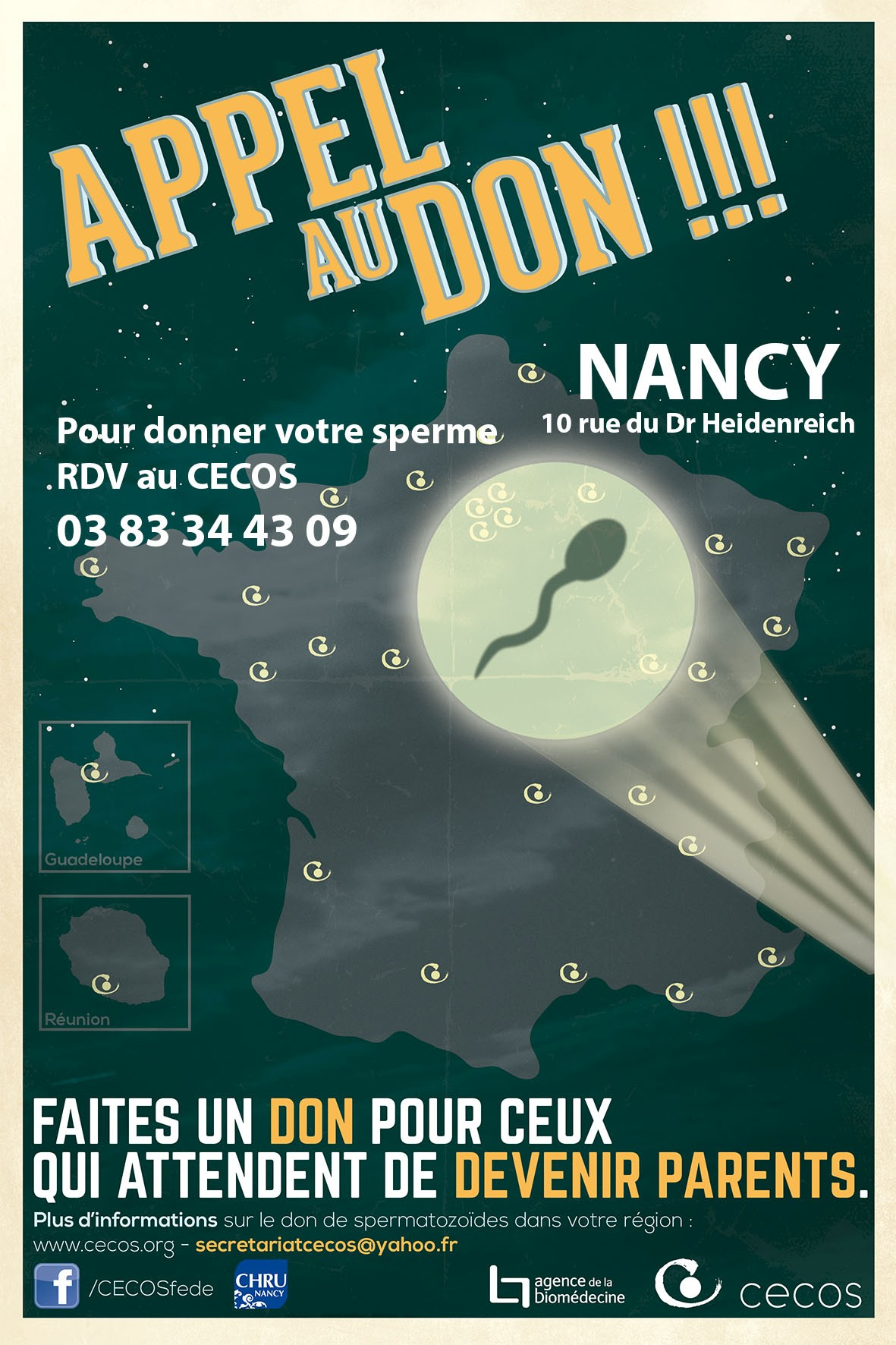Appel don CECOS Nancy