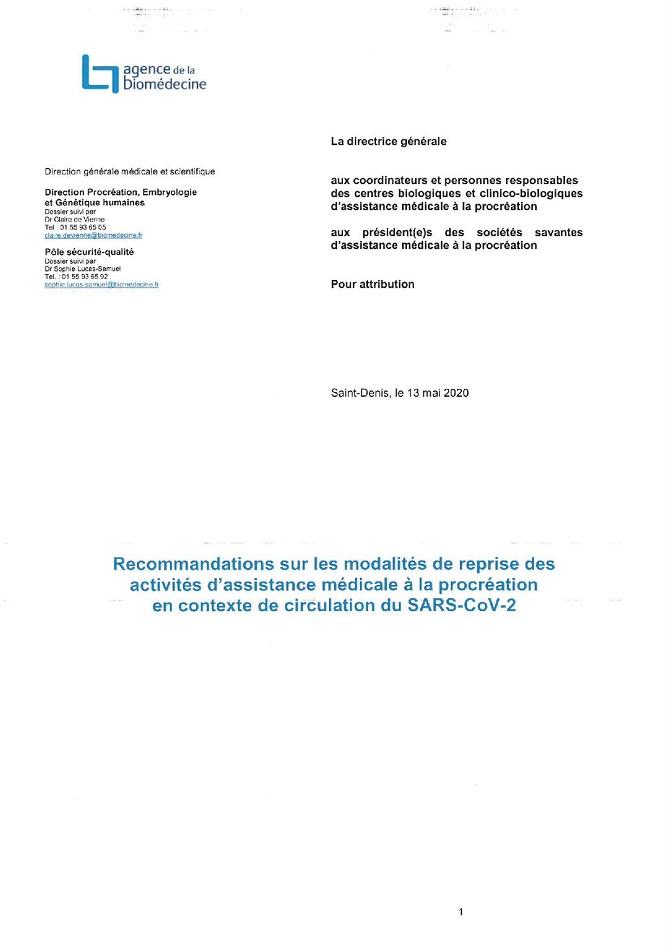 Recommandations (PDF)