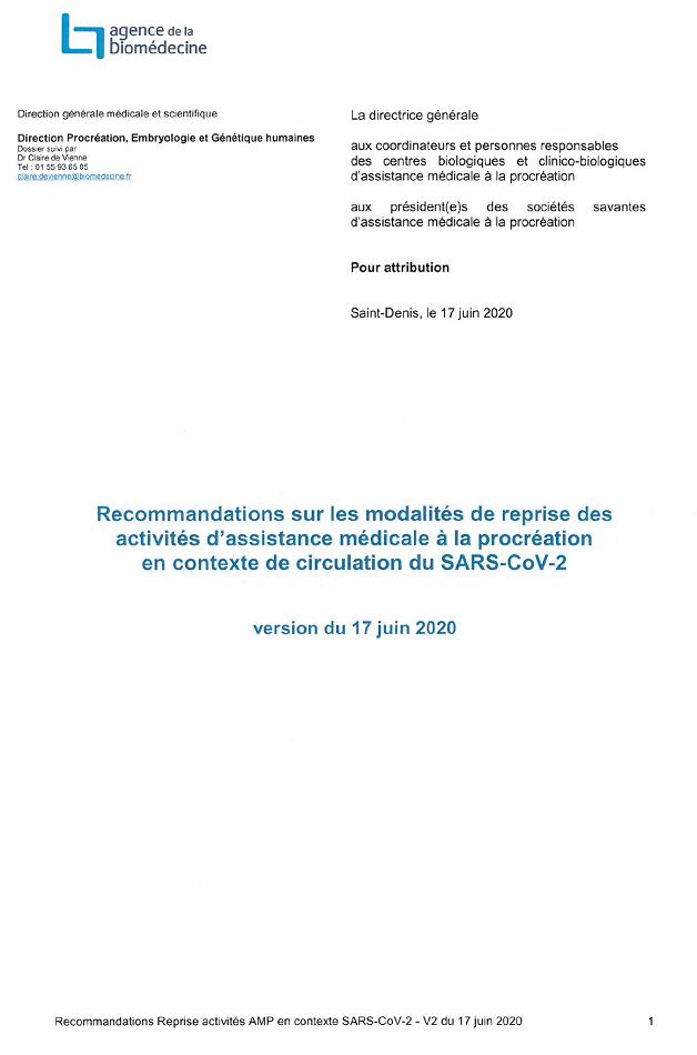 Telecharger les recommandations au format PDF