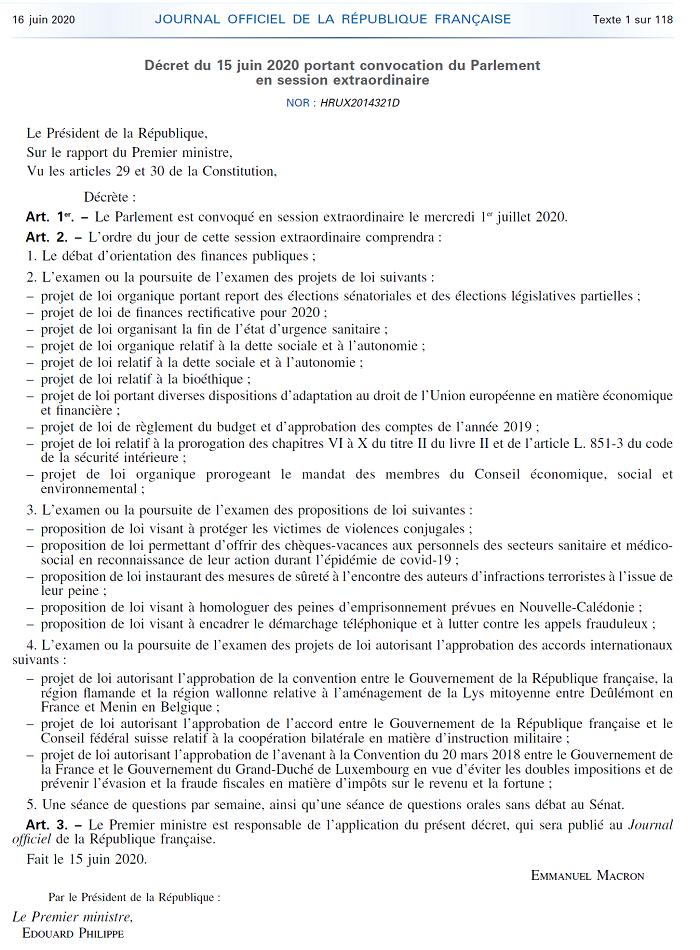 Telecharger decret PDF