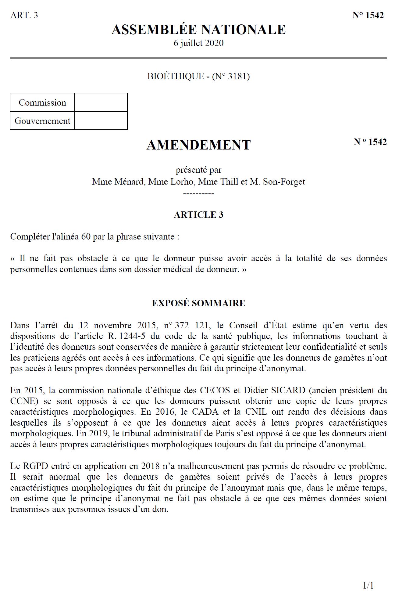 amendement 1542